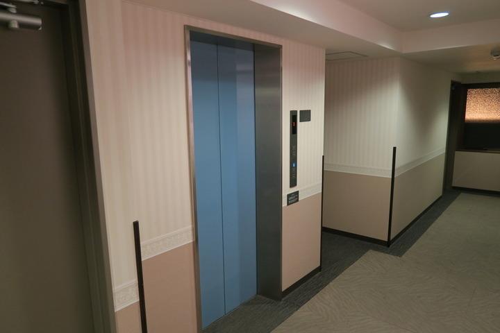 エレベータホールの様子