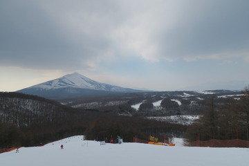 【日帰り利用】ホテル直営のスキー場の様子