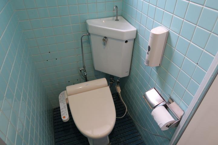 共用トイレの様子
