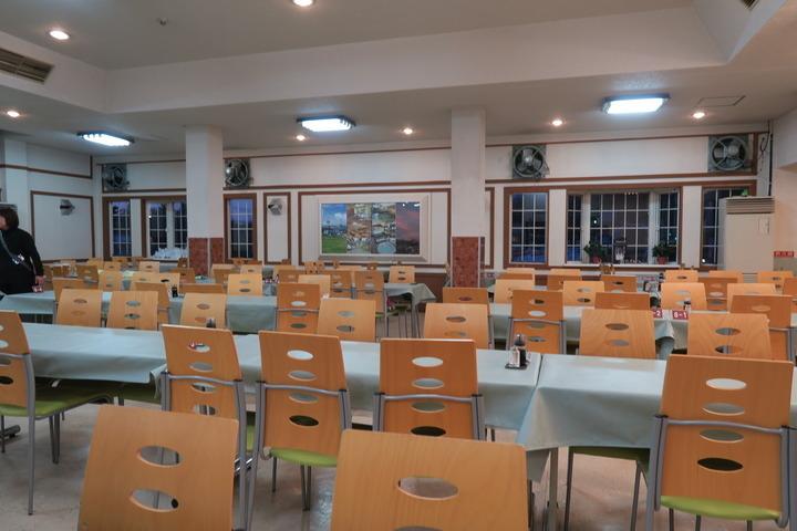 レストラン内部の様子