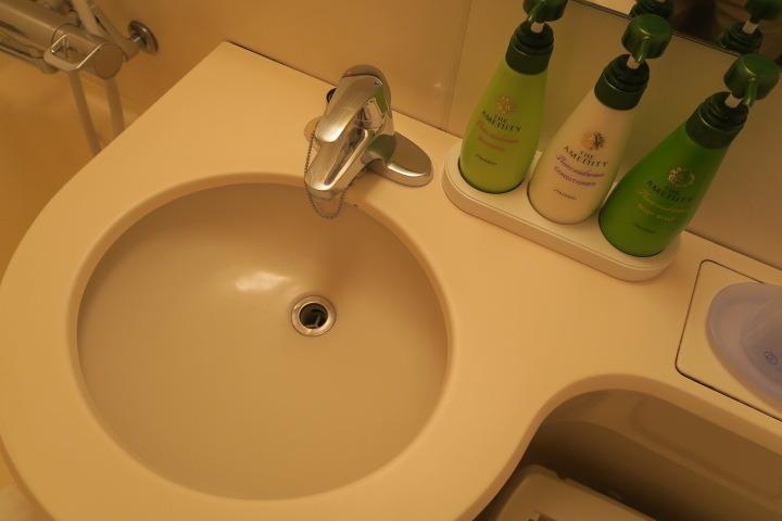 洗面台の様子