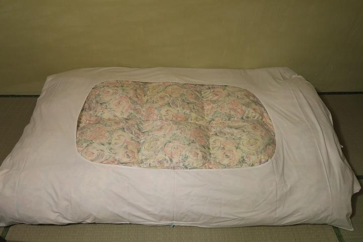 寝具の様子