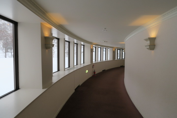 展望廊下の様子