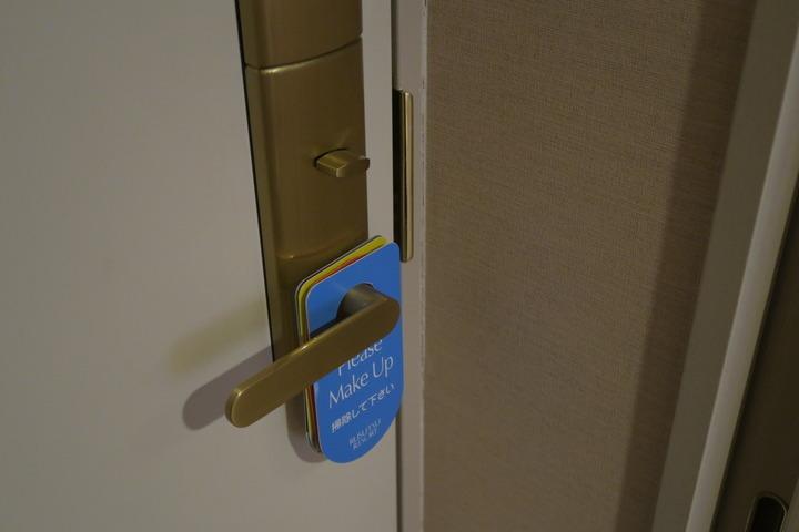 ドアの様子