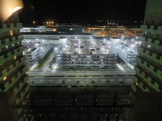 写真クチコミ:ダブルルームからの夜景