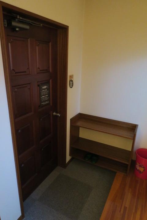 客室入口部の様子