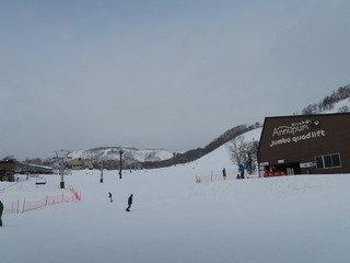 写真クチコミ:宿の前に寄ったスキー場の様子
