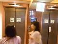 湯仙峡4階のエレベーター