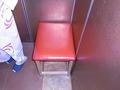 エレーベーター内の椅子