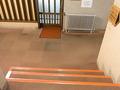 部屋へ行く階段