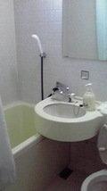 ホテル関西の浴室