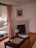 洋室についてる暖炉