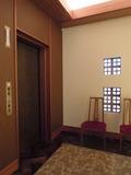 地下1階のエレベータホール