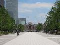 最大の観光地は皇居と東京駅