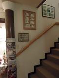 二階へあがる階段