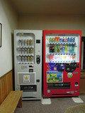 本館の大浴場近くにある自動販売機