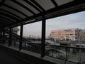 日航ホテルの目の前にはアクアシティ。