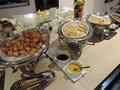 夕食の様子