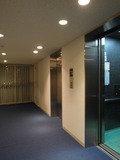 客室階のエレベータホール