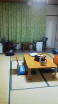 和室で落ち着いてます。