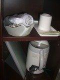 湯沸かし器とドライヤーは部屋に有ります。