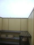露天風呂の脱衣所