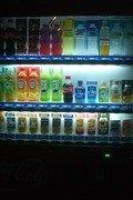 ソフトドリンクの自販機