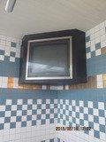 大浴場の大型テレビ