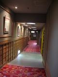 大浴場までの廊下