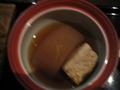 夕食のブリ大根