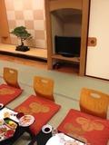 夕食のお部屋