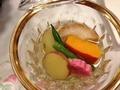 夕食の加賀野菜煮