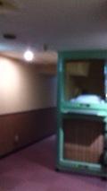 カプセルルーム内部