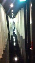 浴室までの通路