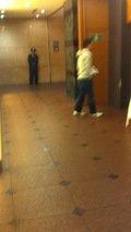 エレベータでフロント階まで行きます。
