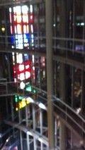 エレベータからの景色