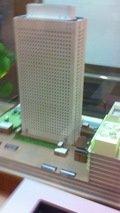 ホテルの模型