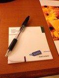 メモとペン