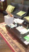 ロビー前のソファ