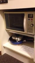 電子レンジと調理器具