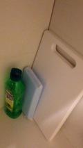 まな板と洗剤