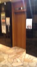 ロビー行きエレベーター