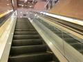 3階へのエスカレーター