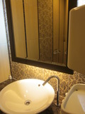 共用トイレの洗面台