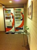 各階にある自販機コーナー
