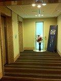 1階エレベータの前