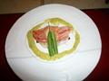 冷製の蟹料理