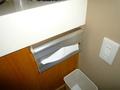洗面所に設置されたティッシュBOX