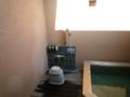 貸切風呂の体洗い場
