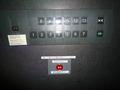 エレベータ中のボタン